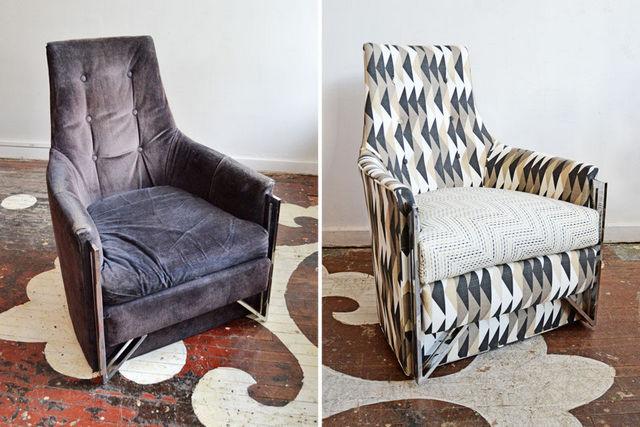 реставрация старинного кресла фото