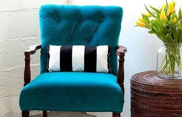 реставрация старинного кресла пример