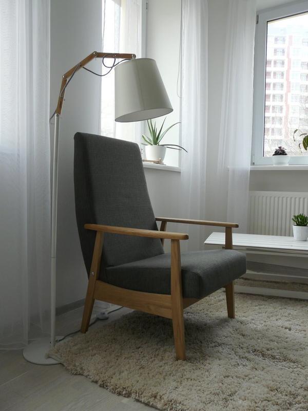 реставрация старинного кресла в стиле ретро
