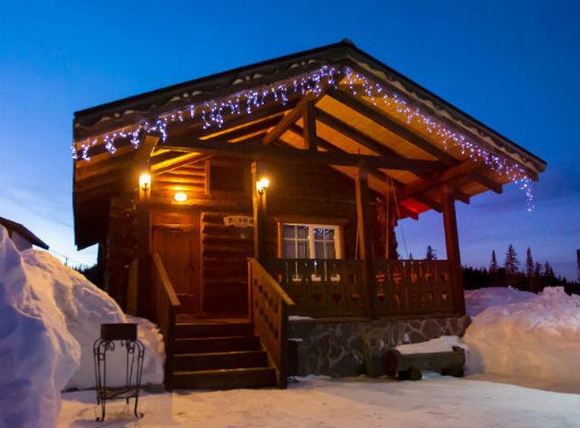 швейцарский дом в стиле шале
