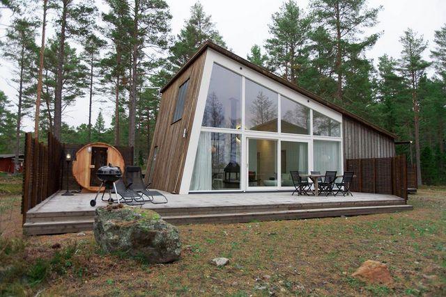 скандинавский дом в стиле шале фото