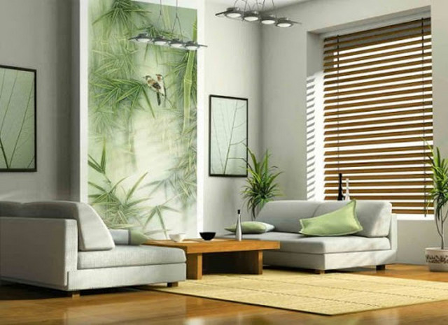 бамбук в интерьере фото идеи