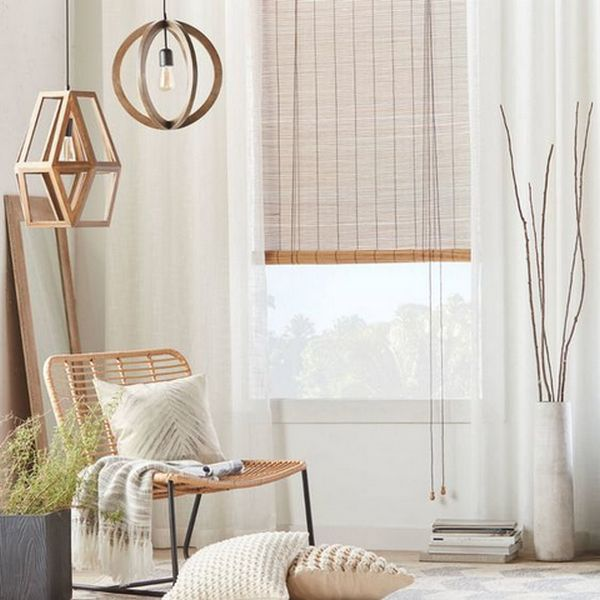 бамбук в интерьере мебель